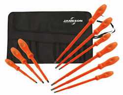 Jameson 9 pc. Screwdriver Set - (JT-KT-00010)