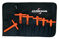 Jameson 6 pc. T-Handle Hex Key Set - METRIC - (JT-KT-02665)