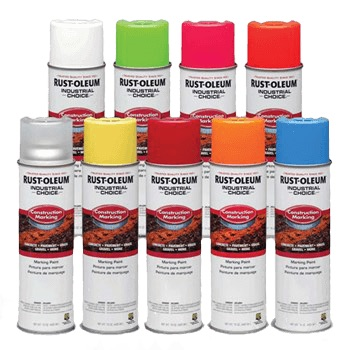 Rust-Oleum Construction Line Inverted Marking Paint (standard grade)