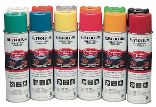Rust-Oleum Precision Line Inverted Marking Paint (premium grade)